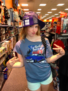 Abby + Awesome TARDIS Hat